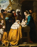 Adoration of the Magi - Bartolome Murillo