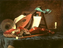 Attributes of Music - Anne Vallayer-Coster