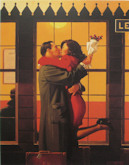 Back Where You Belong - Jack Vettriano