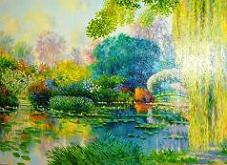 Bassin a Giverny - Claude Cambour