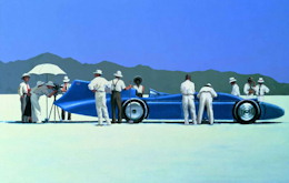 Bluebird at Bonneville - Jack Vettriano