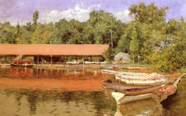 Boat House - William Merritt Chase