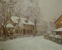 Christmas Morning - Edward Willis Redfield