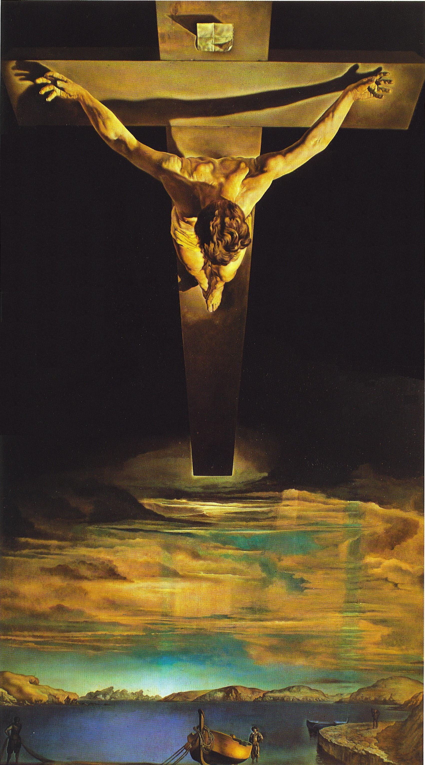 Salvador Dali Wallpapers, Paintings Wallpapers, Art ... Jesus On The Cross Painting
