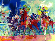 Churchill Downs - LeRoy Neiman