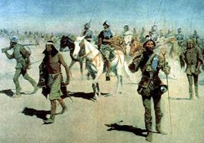 Coronado sets out to the north - Frederic Remington