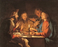 Dinner at Emmaus - Matthias Stom