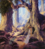 Enchanted Prince - Frederick Maxfield Parrish