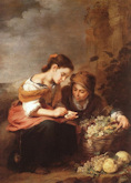 Fruit Sellers - Bartolome Esteban Murillo