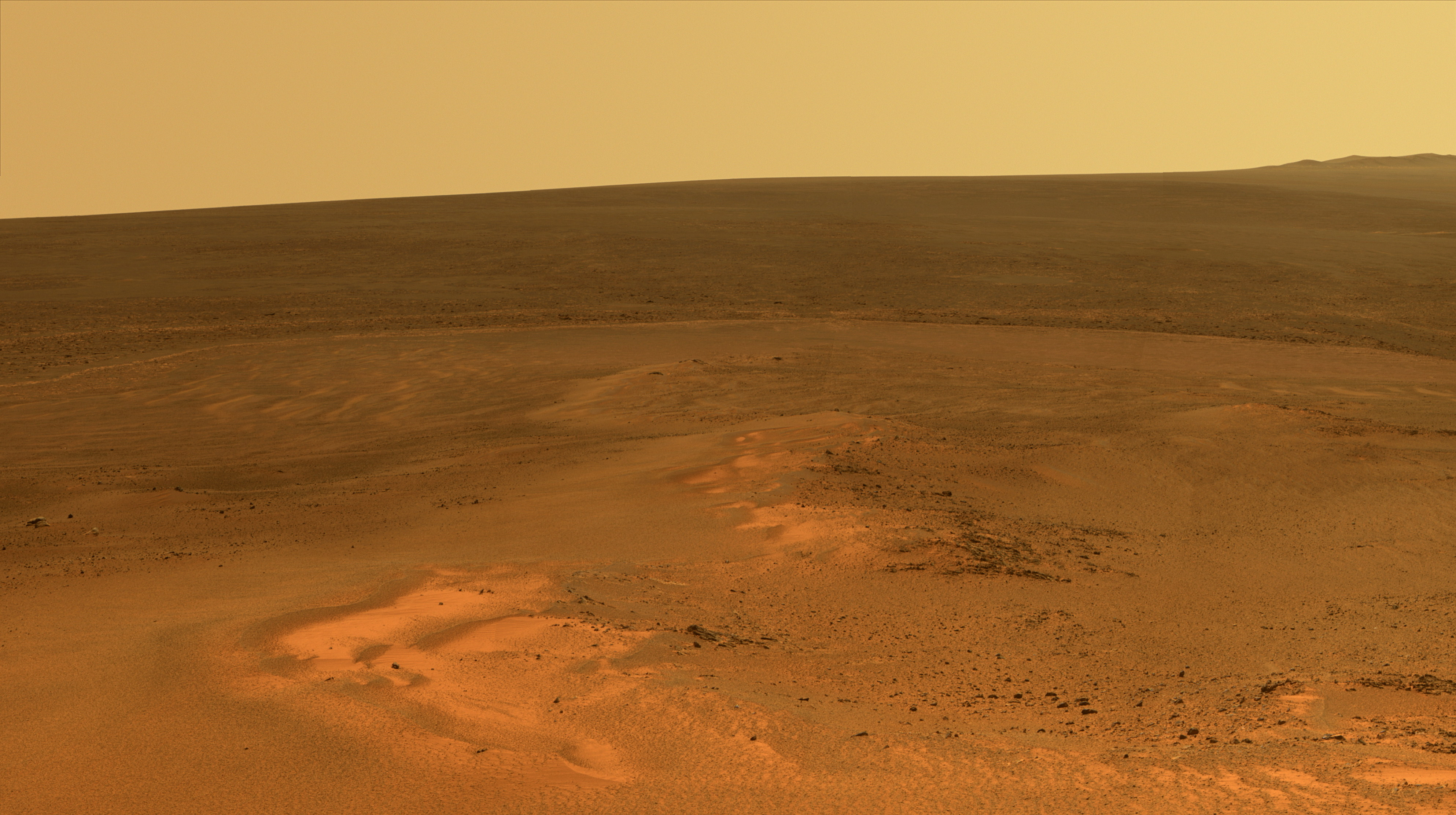 Mars: description and images of the red planet