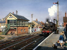 Halstead Train Station - Howard Fogg