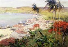 Havana Harbor 1902 - Willard Leroy Metcalf
