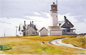 Highland Light - Edward Hopper