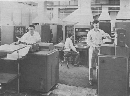 IBM 701 computer and peripherals