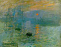 Impression of Sunrise - Claude Monet