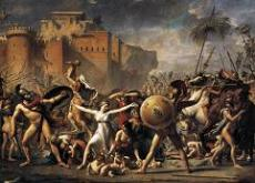 Intervention of the Sabine Women - Jacques Louis David