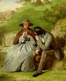 Lovers - William Powell Frith