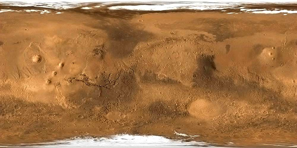 printable map of planet mars -#main