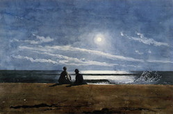 Moonlight - Winslow Homer