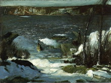 North River - George Wesley Bellows