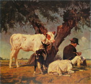 Rest Under the Willows - Julius Paul Junghanns
