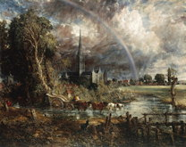 Salisbury Cathedral - John Constable