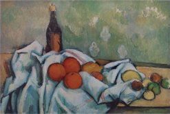 Still Life with Bottle - Paul Cezanne