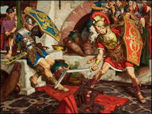 Swordfight - Dean Cornwell