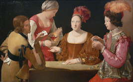 The Cheat with the Ace of Clubs - Georges de la Tour