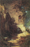 The Hermit - Carl Spitzweg