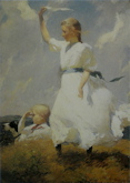 The Hilltop - Frank Weston Benson