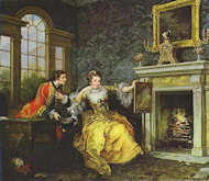 The Lady's Last Stake - William Hogarth