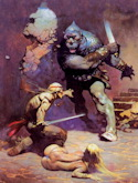 The Moon Men - Frank Frazetta