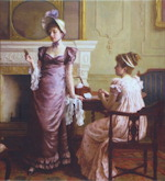 Thoughtful Moments - Charles Haigh-Wood