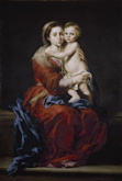 Virgin and Child with a Rosary - Bartolome Esteban Murillo