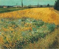 Wheat Field Alpilles - Vincent van Gogh