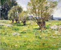Willows and Wildflowers - Theodore Robinson
